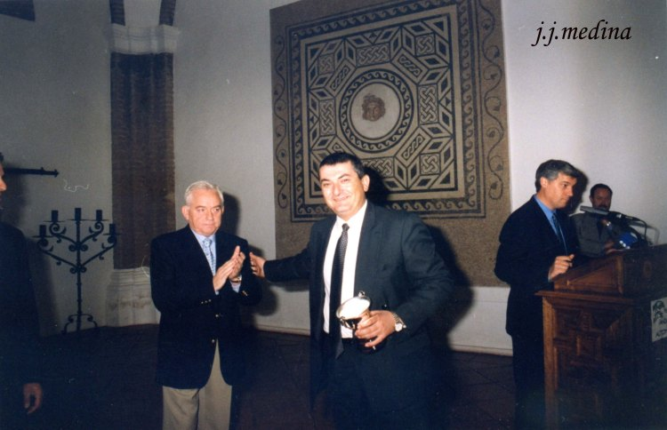 Vidal Castro, Amador Jaén y Ángel Perea