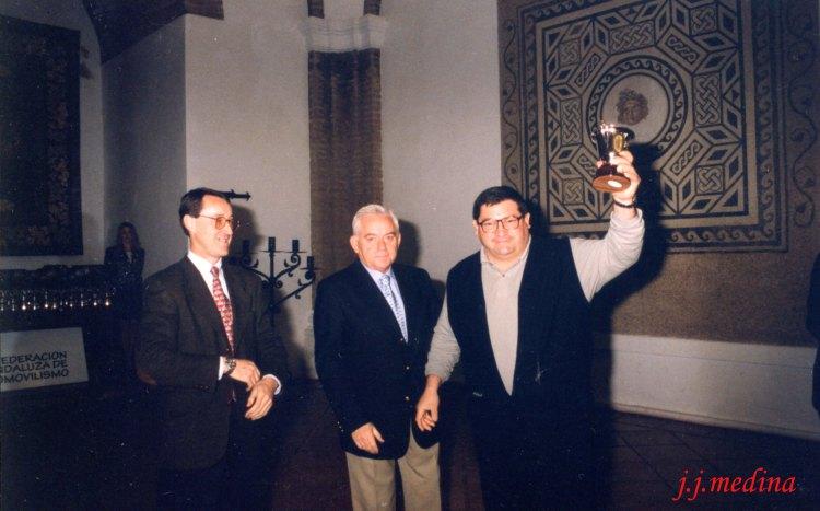 Paco Galera, Vidal Castro y Luis Rueda