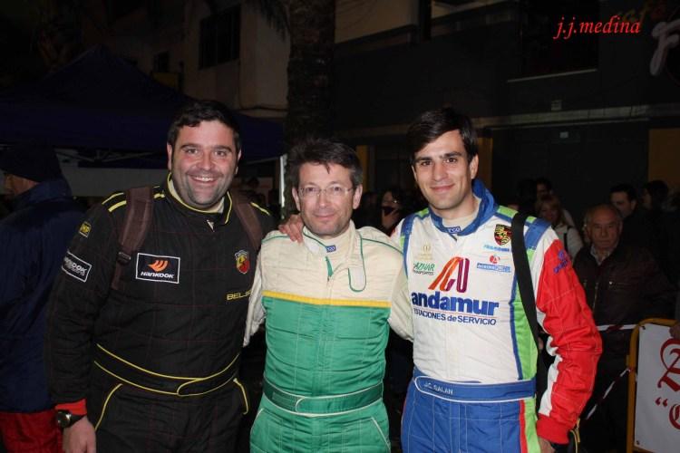 Víctor Barba, José Antonio Caballero y José Crisanto Galán