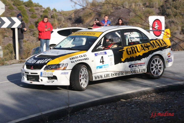Francisco Mata-Antonio Sánchez, Mitsubishi Evo IX