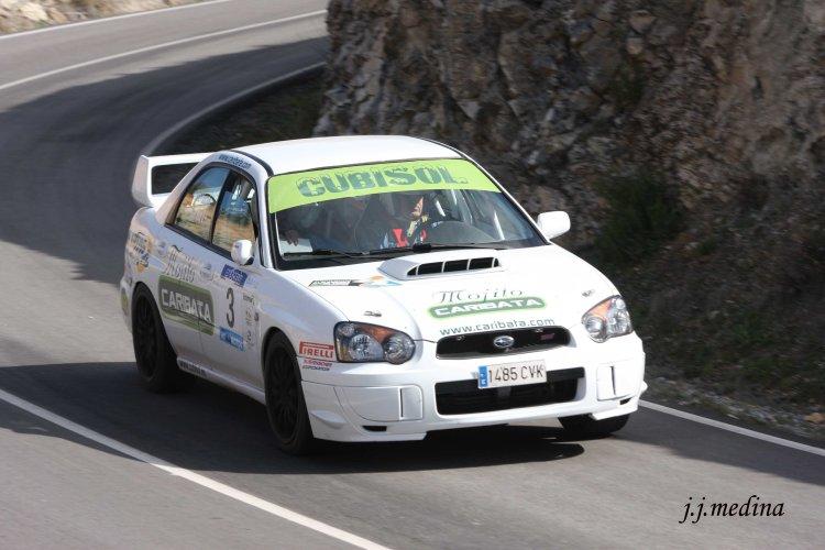 Juan ängel Ruiz-José Antonio González, Subaru Impreza STI