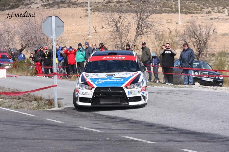Santiago Cañizares-José Martín, Mitsubishi Evo X
