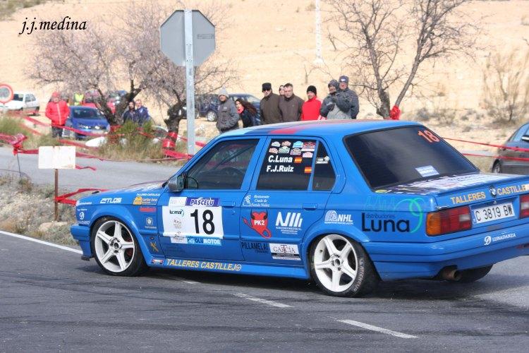 Carlos Luna-Francisco Ruiz, BMW 325i