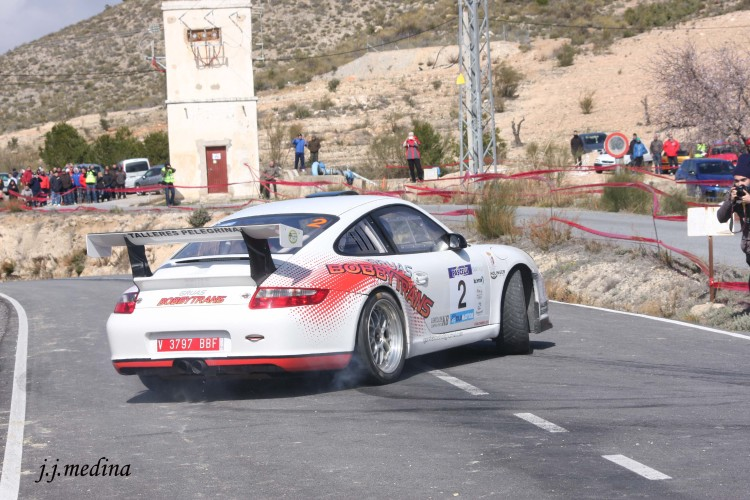 Pedro Cordero-Francisco Cruz, Porsche 911 Gt3 Cup Rally
