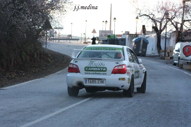 Llegada tramo Chercos-Alcudia