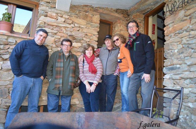 Grupo en la casa de Reñul Alto