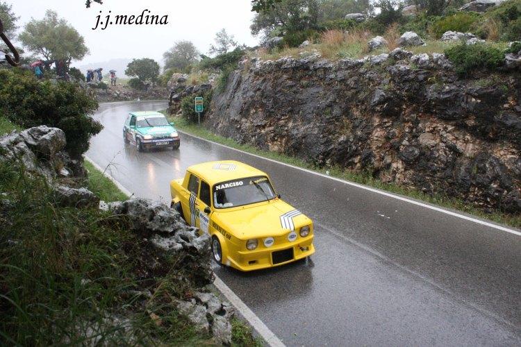 Narciso Carrillo Renault 8 TS y Amador Jaén, Renault 5 GT Turbo