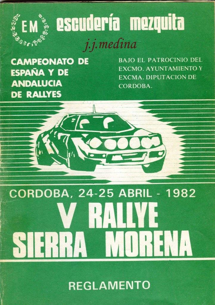 Reglamento Sierra Morena 82