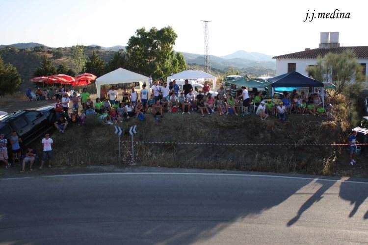 Público en la primera paella