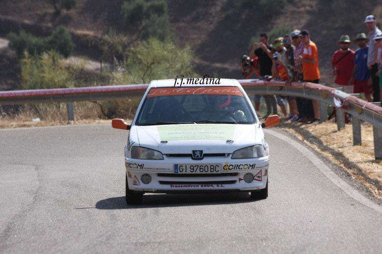 Juan de Dios Rldán, Peugeot 106 Rallye