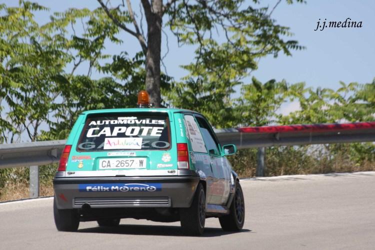 Amador Jaén, coche cero