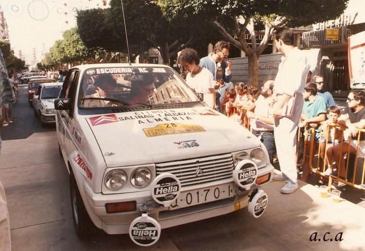 Rafa Ruiz, Citroën Visa GTI