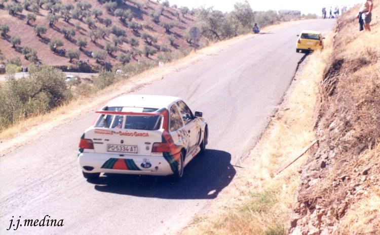 Rafael Ruiz, Ford Escort Cosworth,  Subida a  Montoro 99