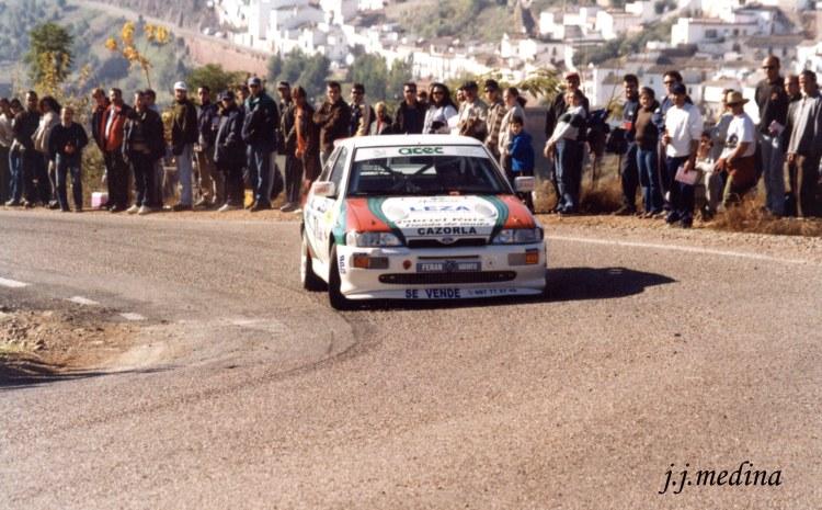 Rafa Ruiz, Ford Escort Cosworth, S. Montoro 2000