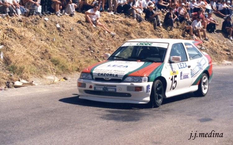 Rafael Ruiz, Ford Escort Cosworth, S. Mota 2000