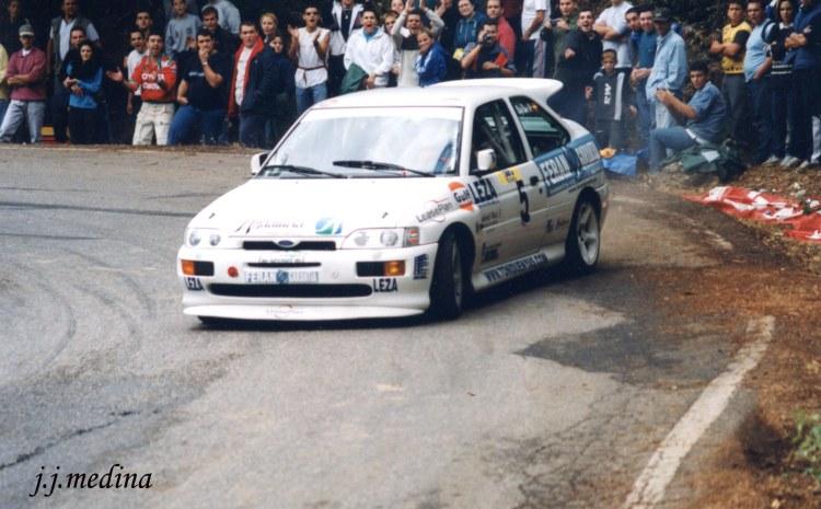 Rafael Rui, Ford Escort Cosworth, S. Lagar 2001