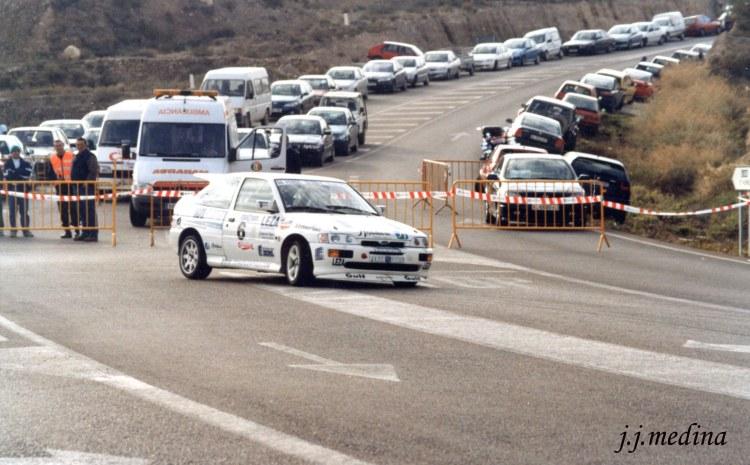 Rafael Ruiz, Ford Escort Cosworth, S. Gádor 2001