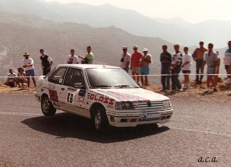 Rafael Ruiz, Peugeot 309 16 v GTI, Subida Roquetas-Enix1994