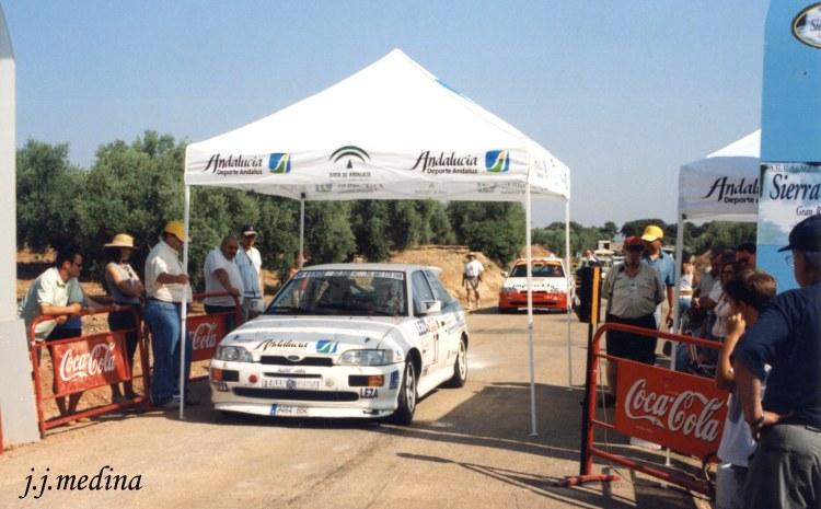Rafael Ruiz, Ford Escort Cosworth, S. Chiclana de Segura 2002