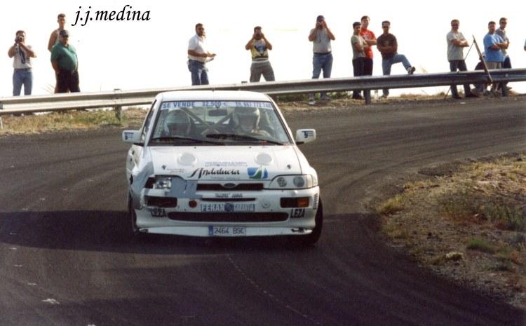 Rafael Ruiz, Ford Escort Cosworth, R. Costa de Almería 2002