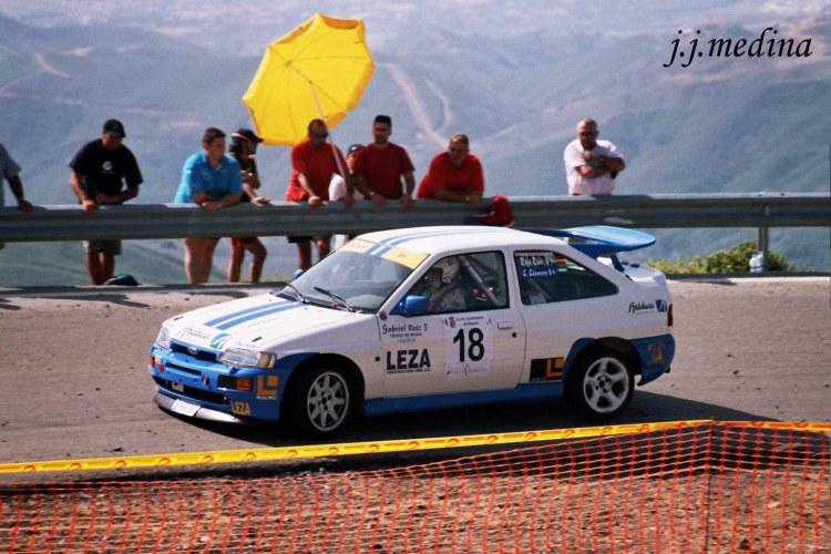 Rafael Ruiz, Ford Escort Cosworth, S.  Estepona 2004