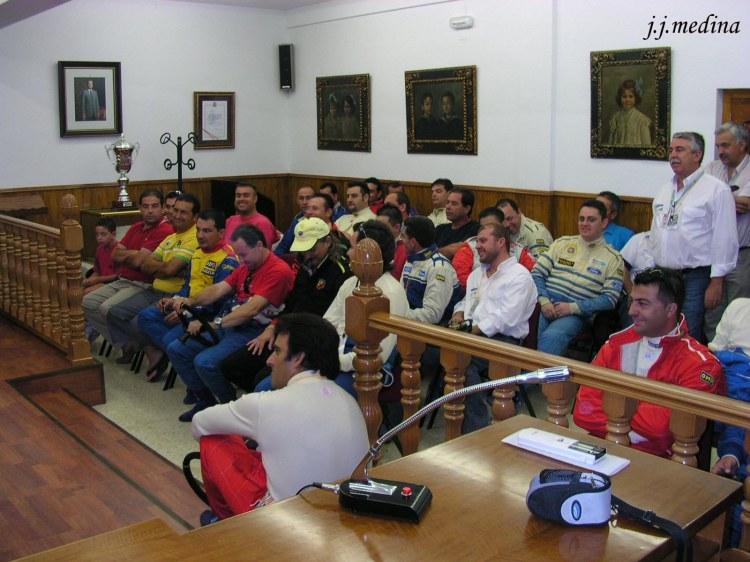 Briefing Subida  Gádor 2004