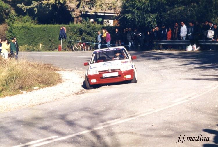 Rafael Ruiz, Peugeot 205 GTI,  Subida a Granada 97