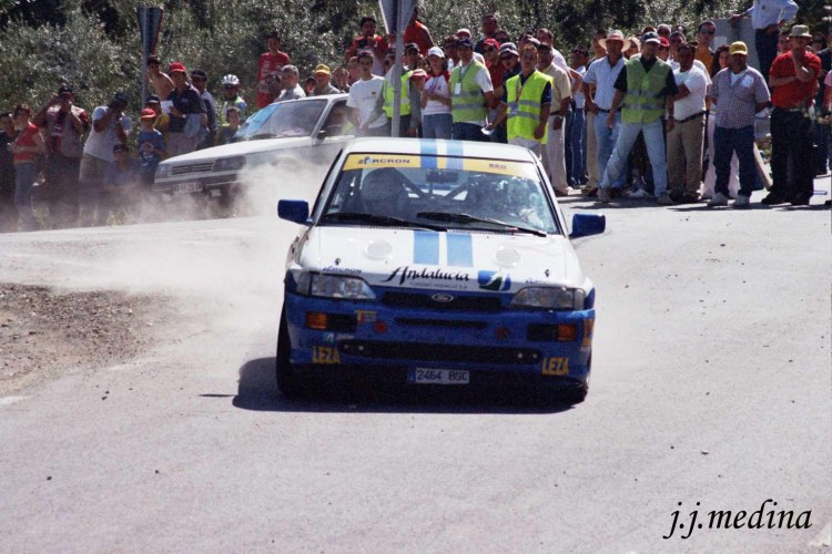 Rafael Ruiz, Ford Escort Cosworth, R. de Granada 2004