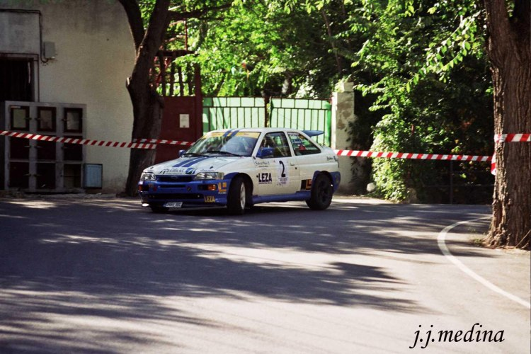 Rafael Ruiz, Ford Escort Cosworth,  R. Linares 2004