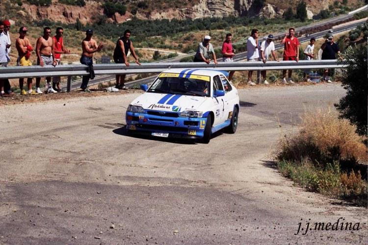 Rafael Ruiz, Ford Esort Cosworth, R Linares 2004