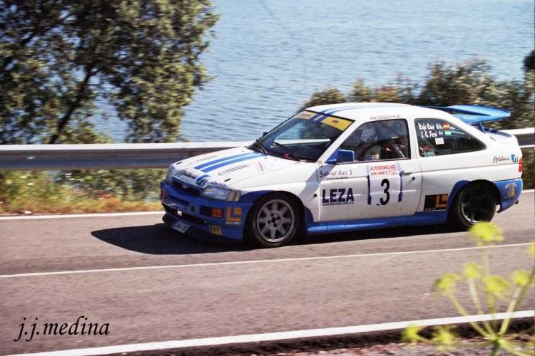 Rafael Ruiz, Ford Escort Cosworth,  R. Sierra Norte Sevilla 2004