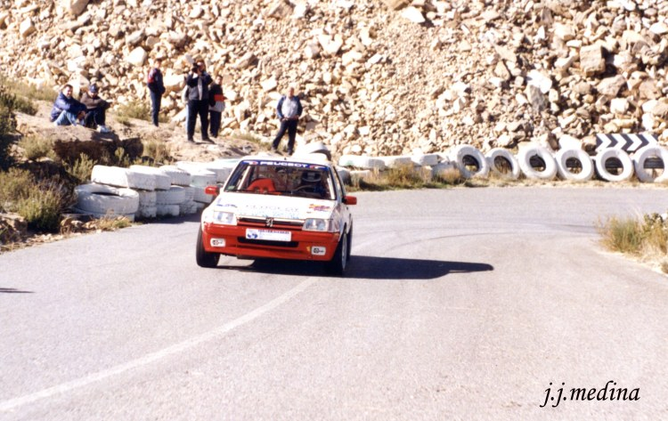 Rafael Ruiz, Peugeot 205 GTI,  S. Mármol 97