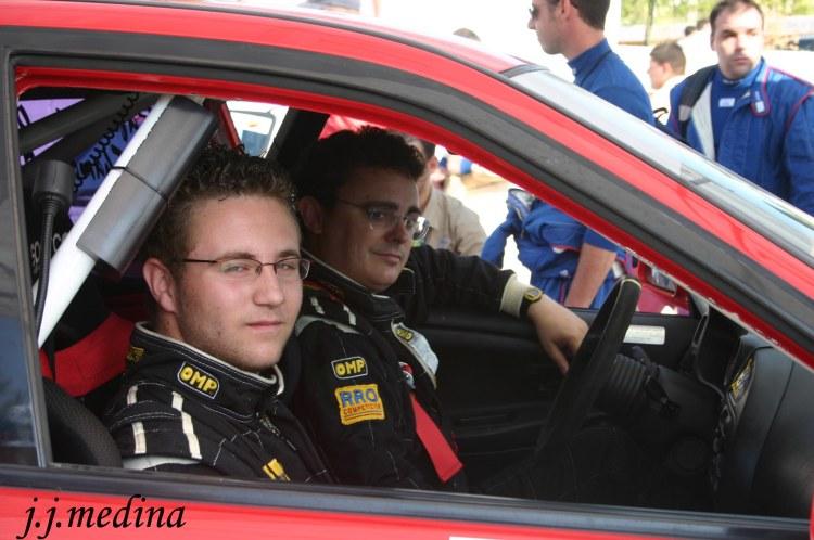 Carlos Chamorro y Rafael Ruiz, temporada ralyes 2005
