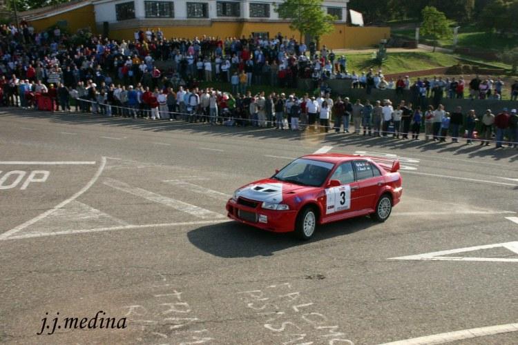 Rafael Ruiz, Mitsubishi Evo VI, R. Sierra Morena 2005