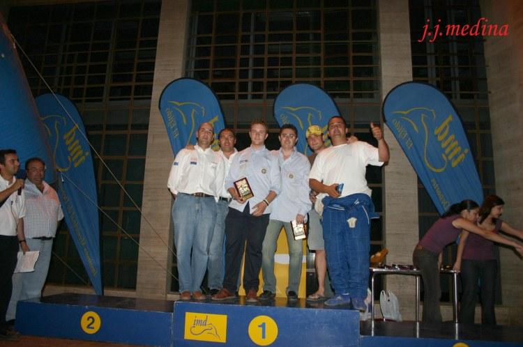 Podium gr. N  R. Costa de Almería 2005