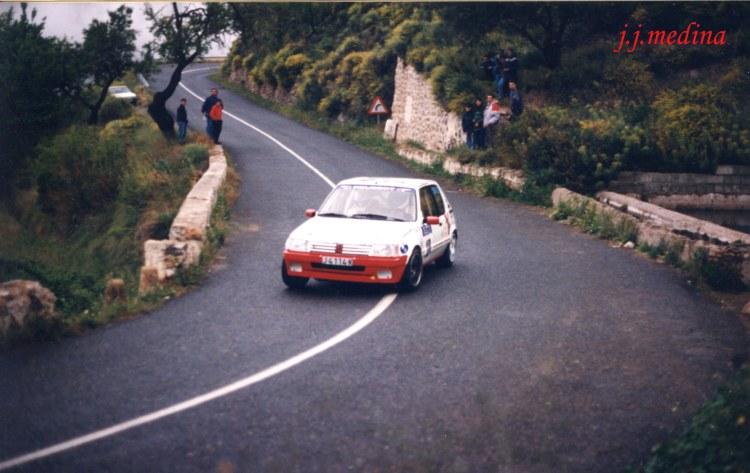 Rafael Ruiz, Peugeot 205 GTI, R. Costa Almería 97