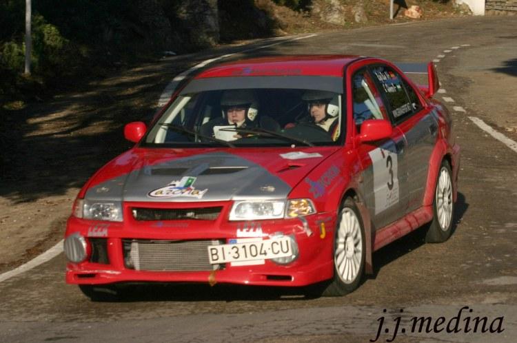Rafael Ruiz, Mitsubishi Evo I, R. Ronda 2005