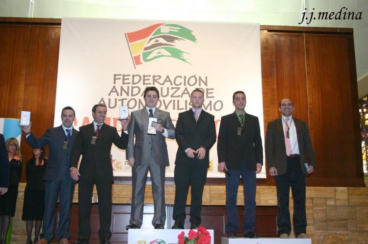 Podiumde Campeones de Rallyes 2005
