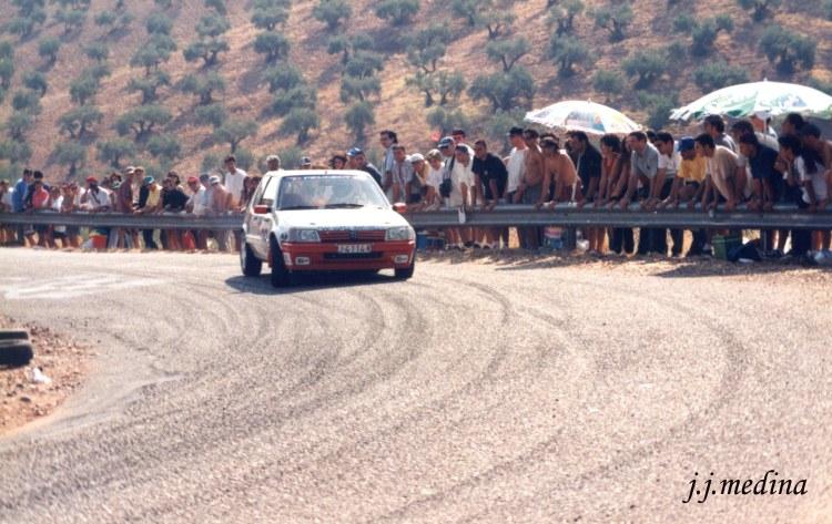 Rafael Ruiz, Peugeot 205 GTI,   Subida a  Montoro 98
