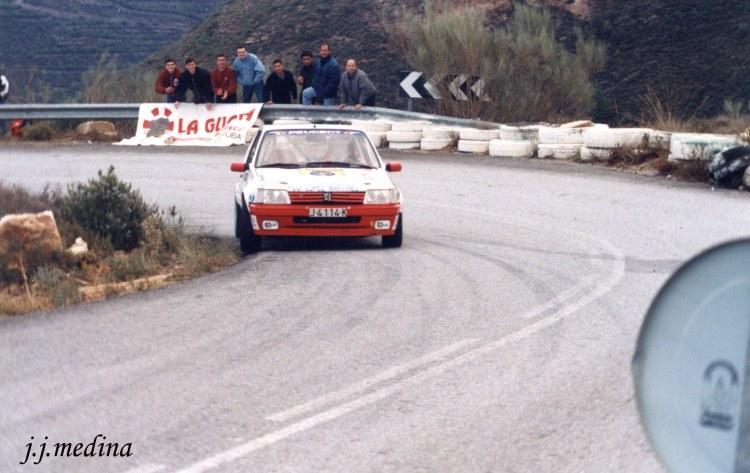 Rafael Ruiz, Peugeot 205 GTI, S. Mármol 98