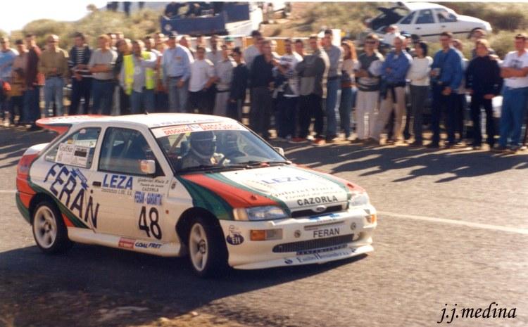 Rafael Ruiz, Ford Escort Cosworth, Subida Enix 99