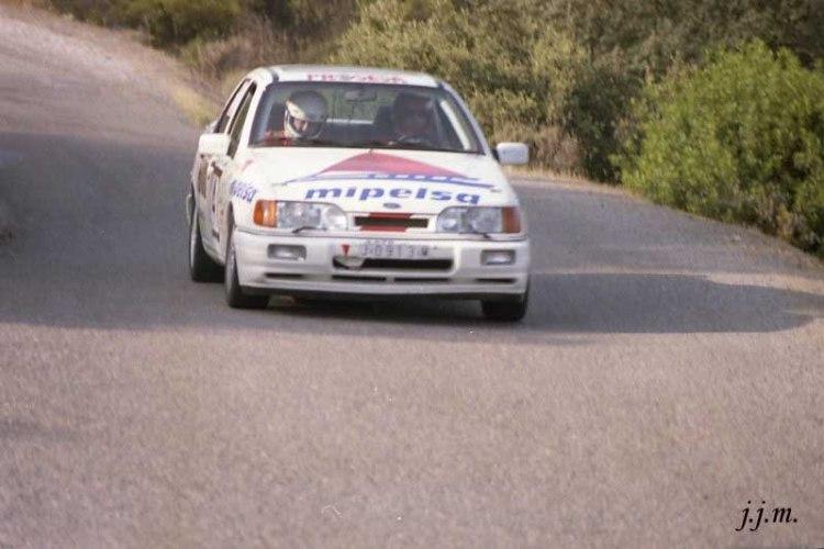 Rafael Palomares- José Ramos, Ford Sierra Cosworth