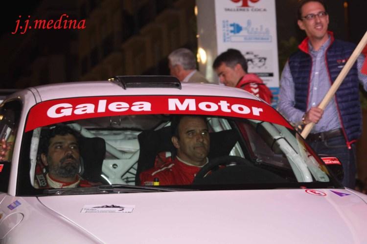 Pedro Cordero y Francisco Cruz, Porsche 997 Gt3 Cup Rallye 2010