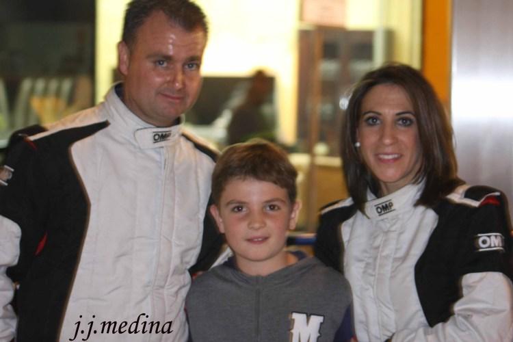 Juan Jesús Coca, Angel Jesús y Luisa Mª Benítez