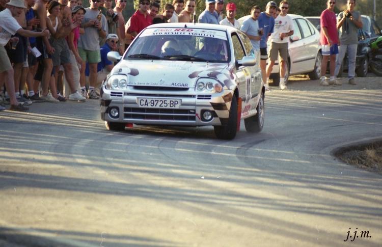 Francisco Galera-M. Carmen Brome, Renault Clio Sport