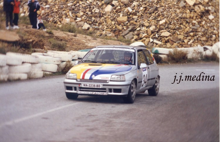 Francisco Palomo, Renault Clio Williams