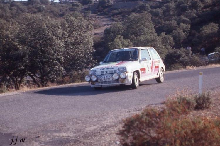 Juan Velasco- A. Velasco, Renault 5 Gt Turbo