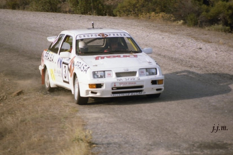 Paco López, Ford Sierra Cosworth RS