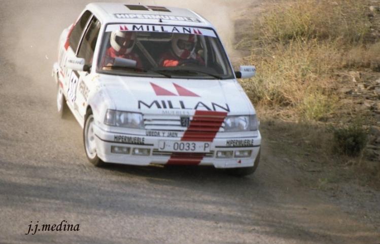 Ildefonso Reyes, Peugeot 309 GTI 16v