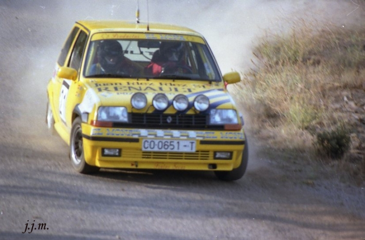 Francisco Martín, Renault 5 GT Turbo